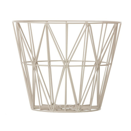 Ferm Living Wire Basket Grå