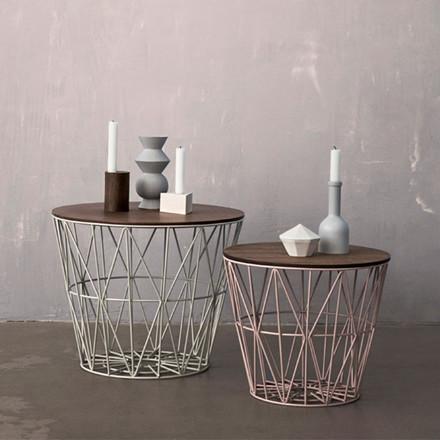 Ferm Living Wire Basket Top Sort