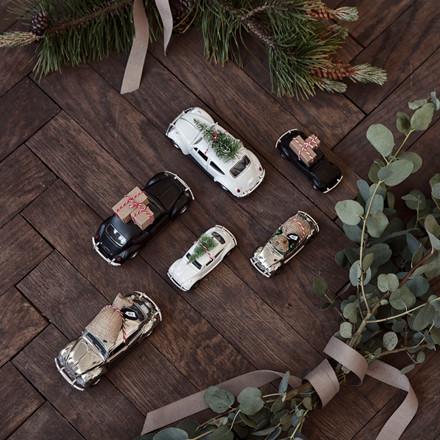 House Doctor Xmas Car White