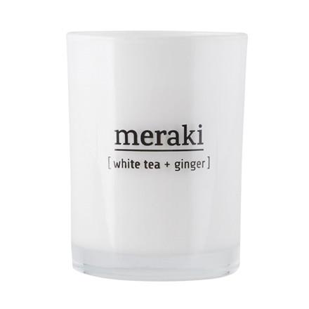 Meraki White Tea & Ginger Duftlys