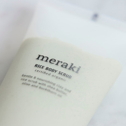 Meraki Rice Body Scrub