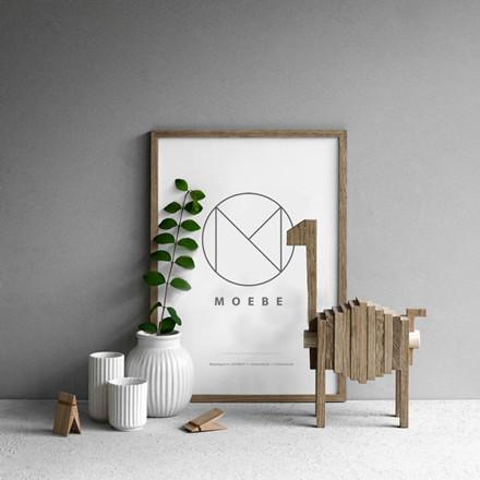 Moebe Oak Frame A4