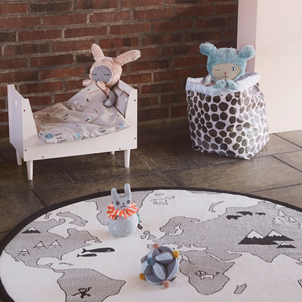 OYOY Happy Forest Bedding Doll Bed