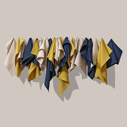Vipp 125 Cloth Napkin Blue 4 stk