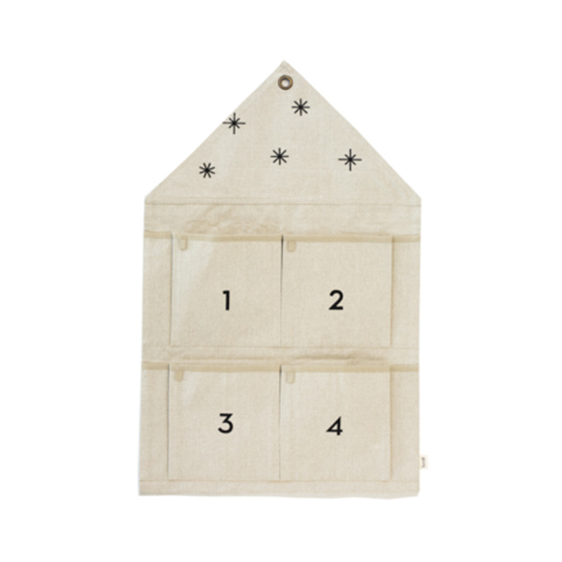 Image of   Ferm Living Star Advent Calendar Sand