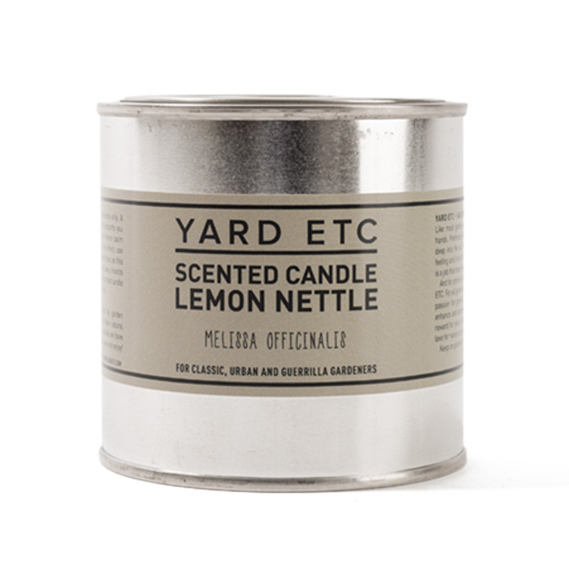 Yard Etc Scented Candle Lemon Nettle