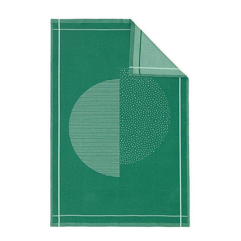 Normann cph illusion viskestykke grøn