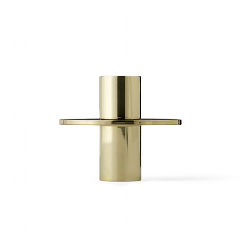 Image of   Menu Antipode Candle Holder Bronzed Brass