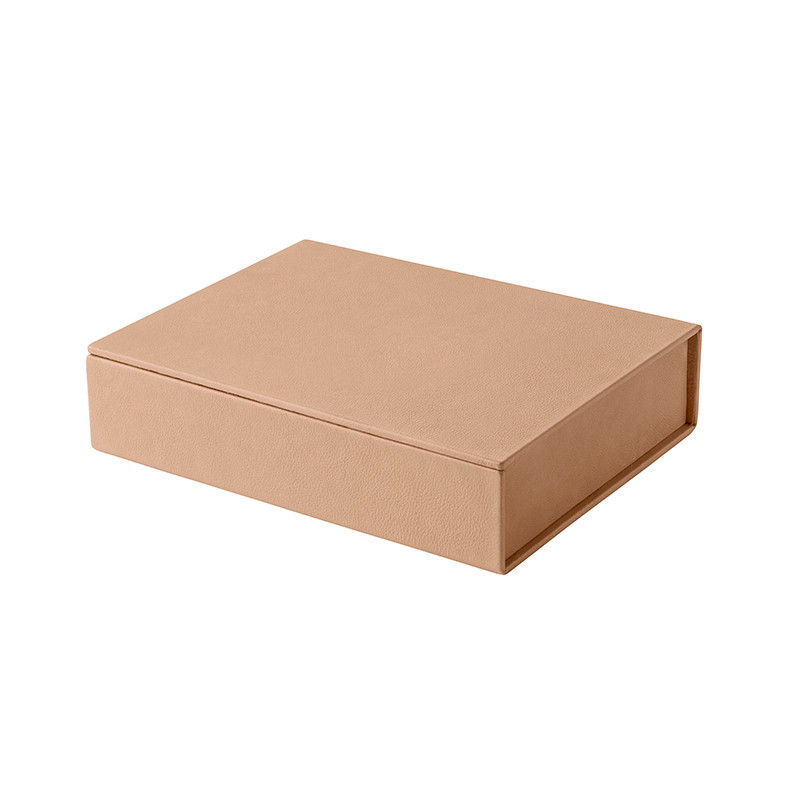Image of   Fritz Hansen Leather Box Small Natur