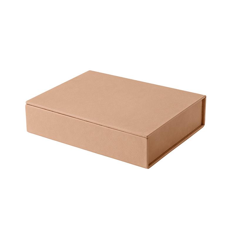 Fritz Hansen Leather Box Small Natur fra Fritz Hansen
