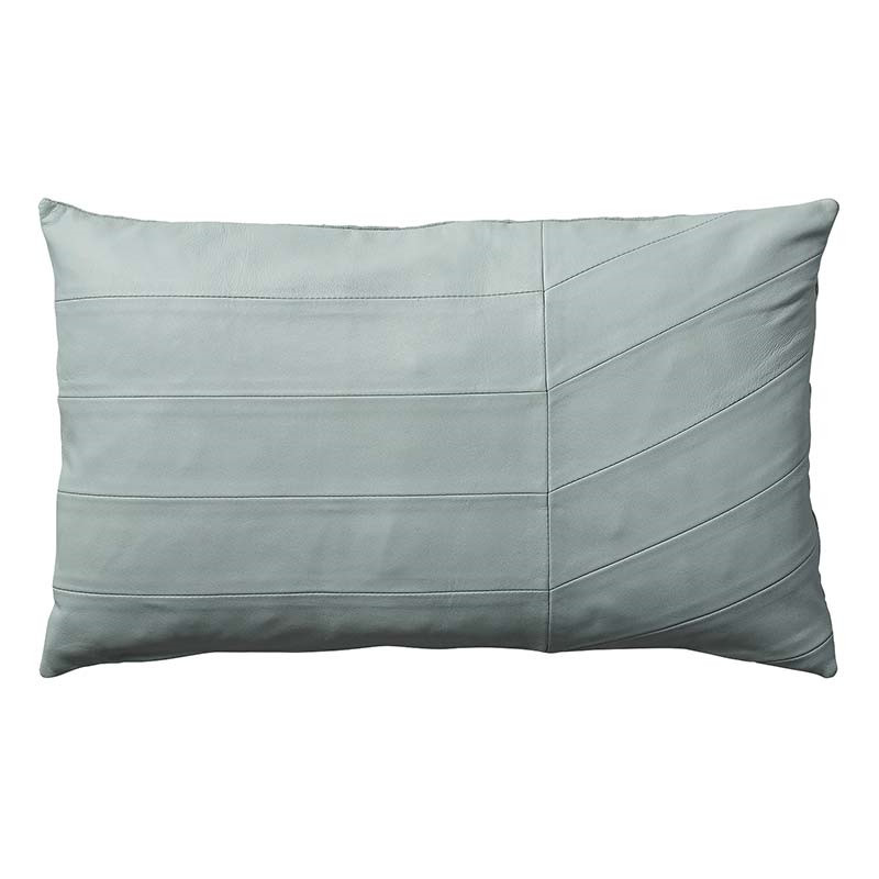 Image of   AYTM Coria Leather Cushion Pale Mint