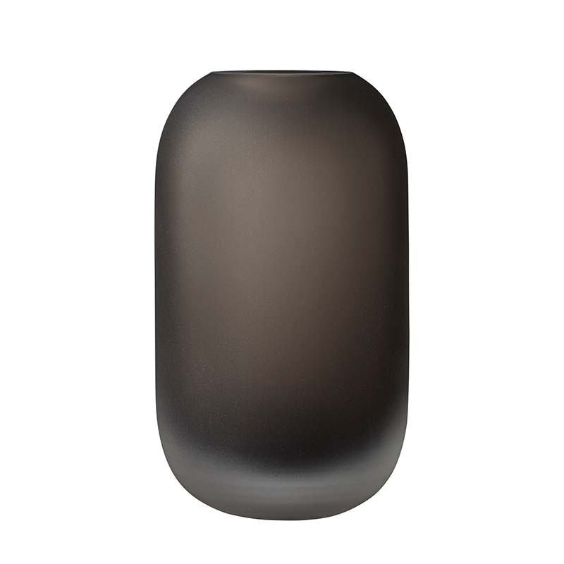 Image of   AYTM Hydria Glass Vase Walnut