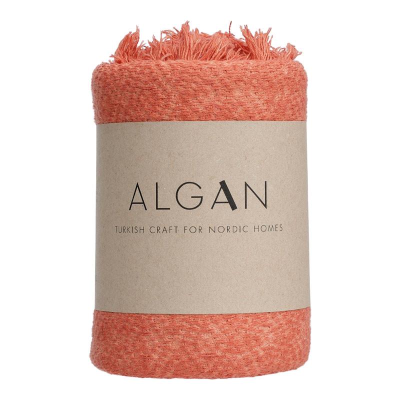 Image of Algan Dolu Gæstehåndklæde Terrakotta