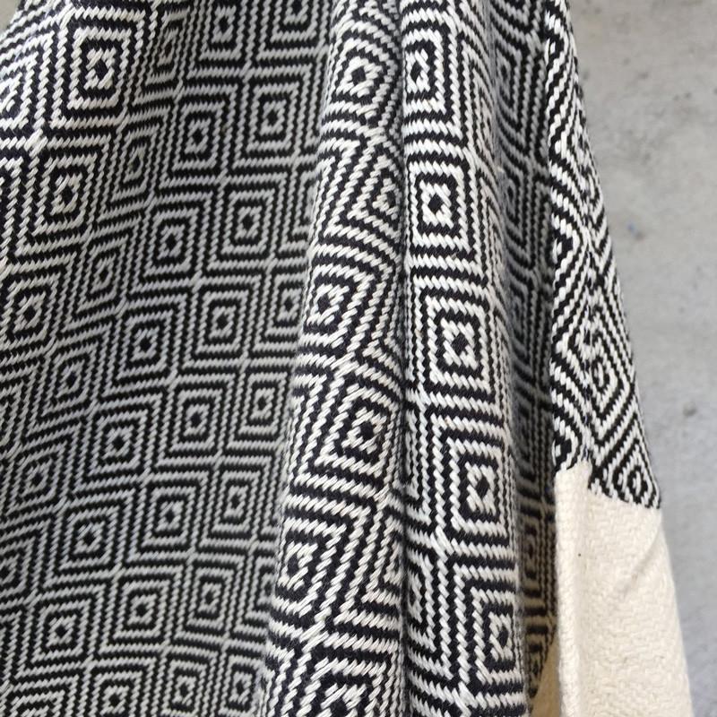 Algan – Algan elmas gæstehåndklæde xs sort fra livingshop