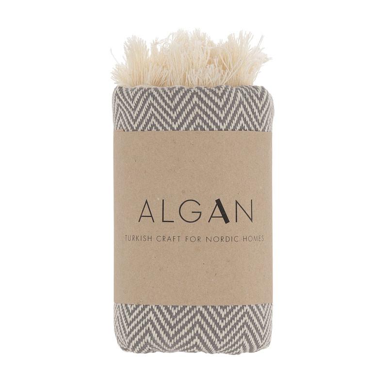 Image of   Algan Balik Gæstehåndklæde XS Grå