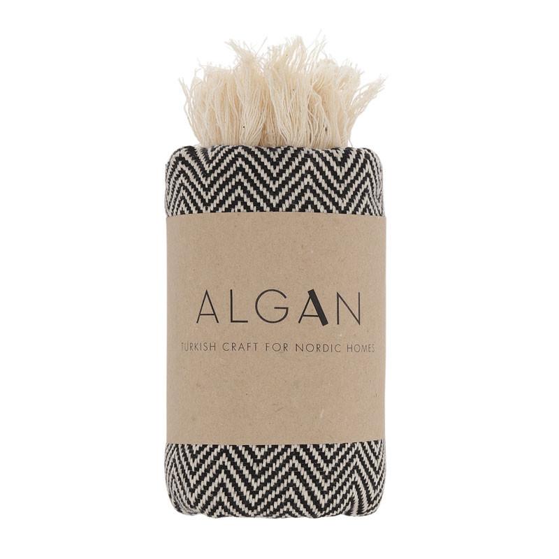 Image of   Algan Balik Gæstehåndklæde XS Sort
