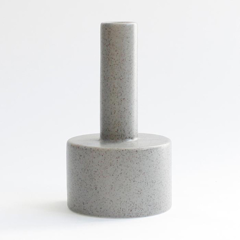 Image of   Ania KALLE Candle Holder Light Grey Dots