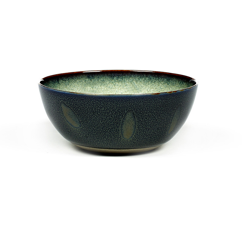 Image of   Serax Bowl Medium Misty Grey/Dark Blue