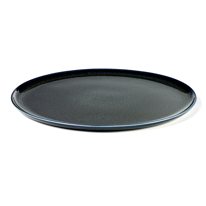Serax plate large dark blue