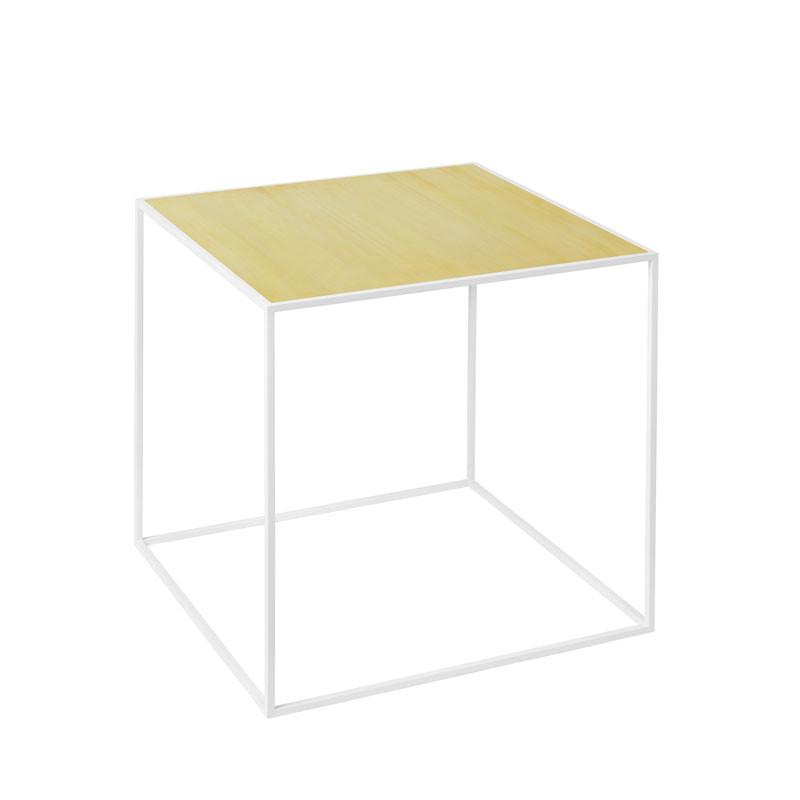 Image of   By Lassen Twin Table 35 Oak/Brass