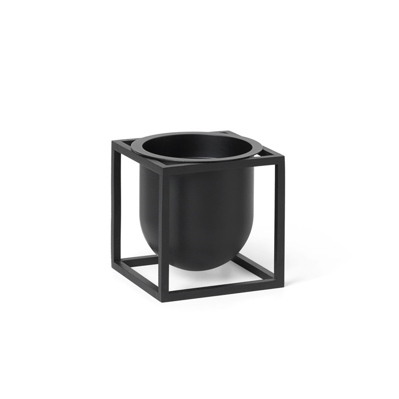 Image of   By Lassen Kubus Flowerpot 10 Black