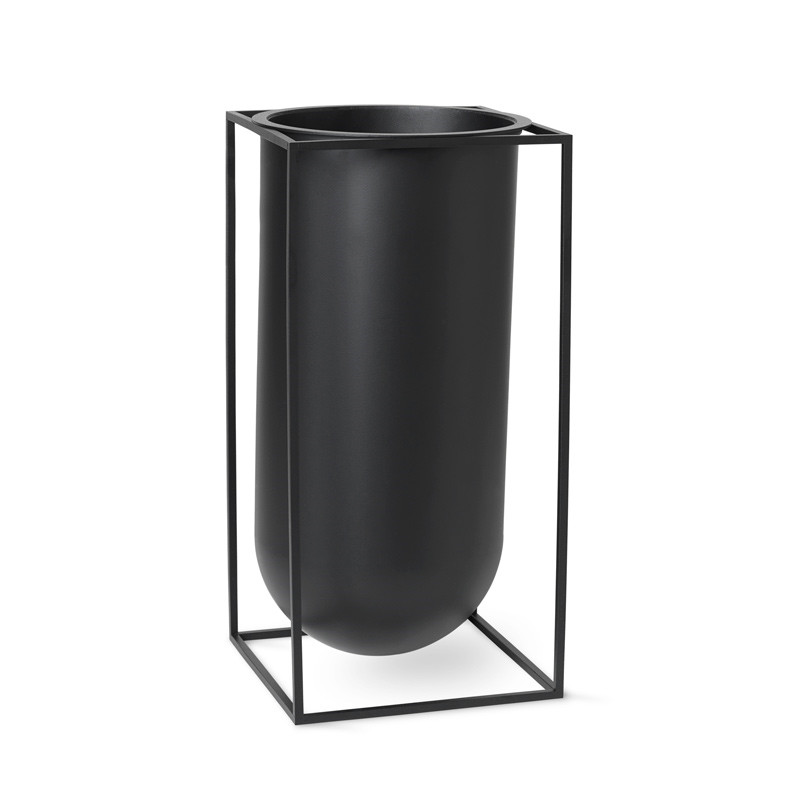 Image of   By Lassen Kubus Nolia Vase Black