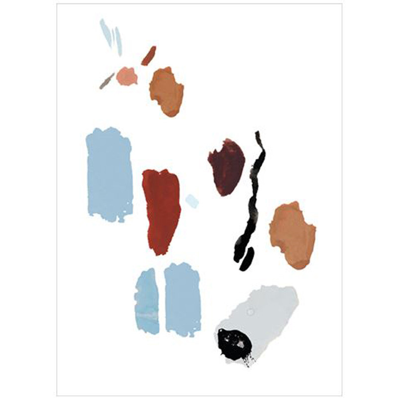 Image of   By Lassen Palette Prints No. 2