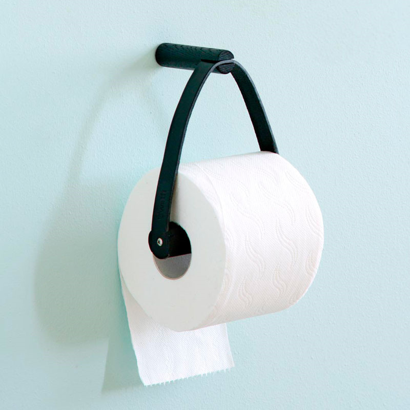 By wirth By wirth toilet paper holder black fra livingshop