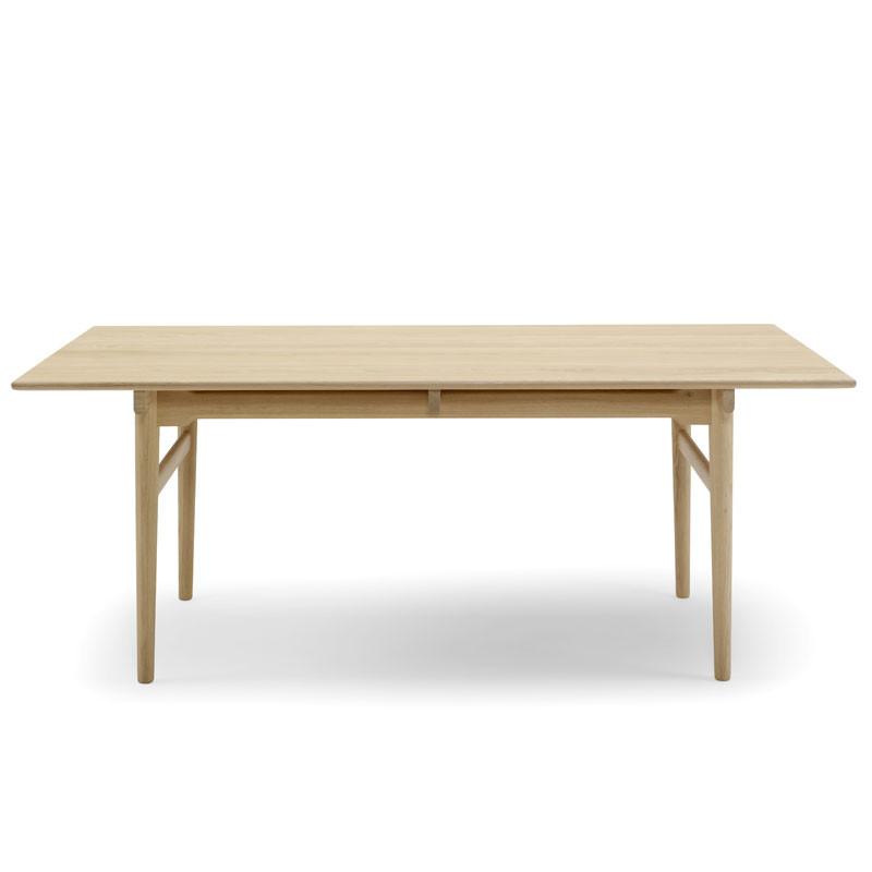 spisebord eg Carl Hansen CH327 Spisebord Eg/Valnød   Livingshop.dk spisebord eg