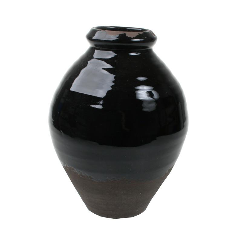 Cozy room sort vase høj