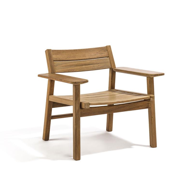 Skargaarden Djurö Lounge Chair Teak fra Skargaarden