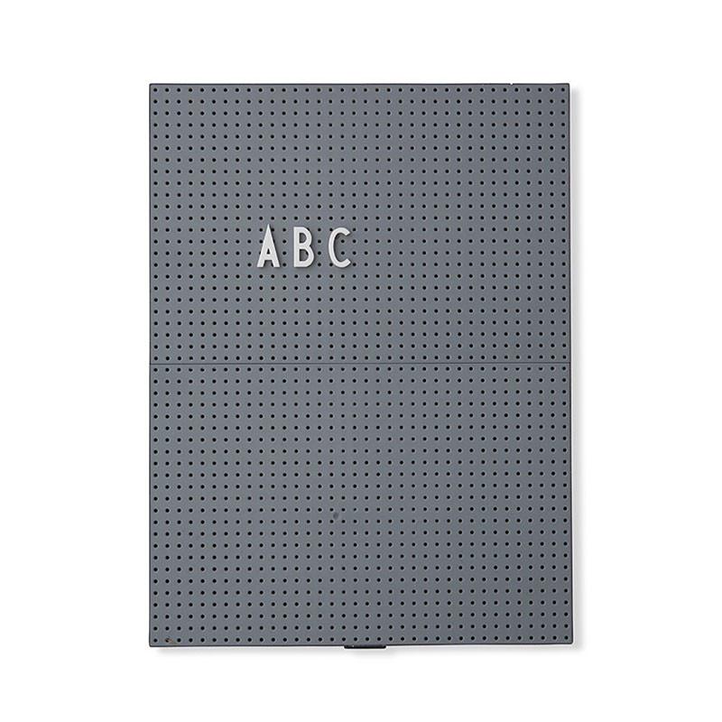 Image of   Design Letters Message Board A4 Mørkegrå