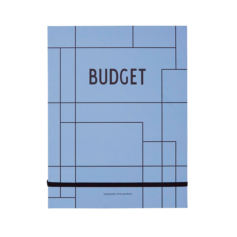 Image of   Design Letters Budget Book