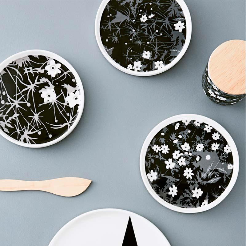 Image of   Design Letters AJ Vintage Porcelain Snack Plate