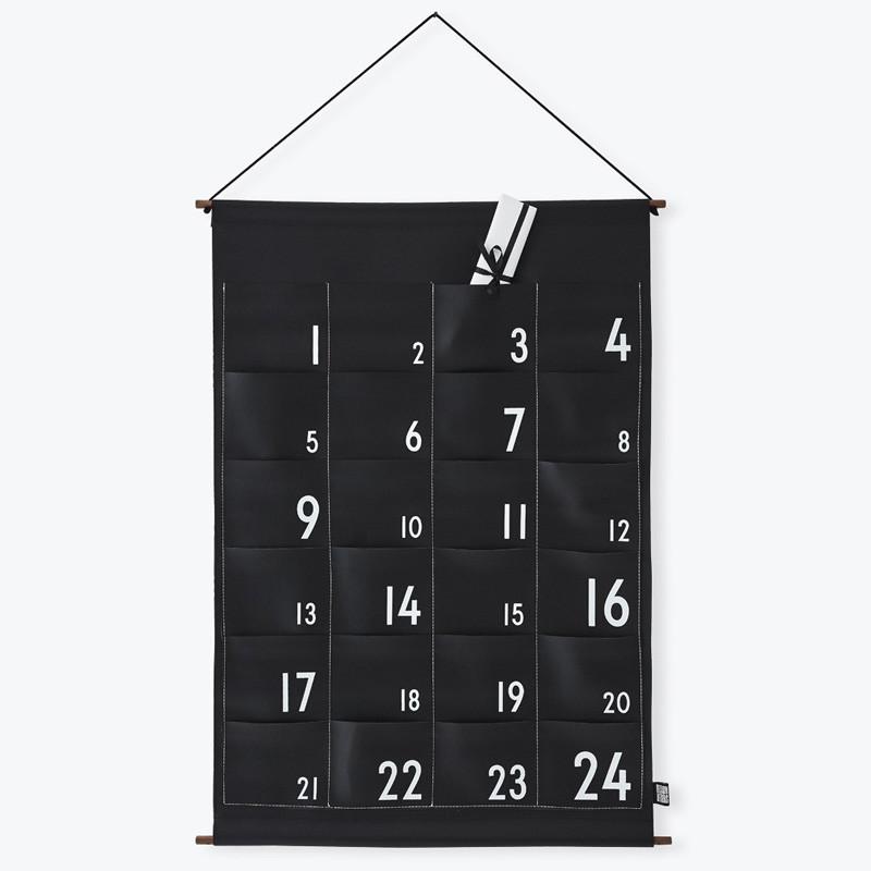 Design letters christmas calendar
