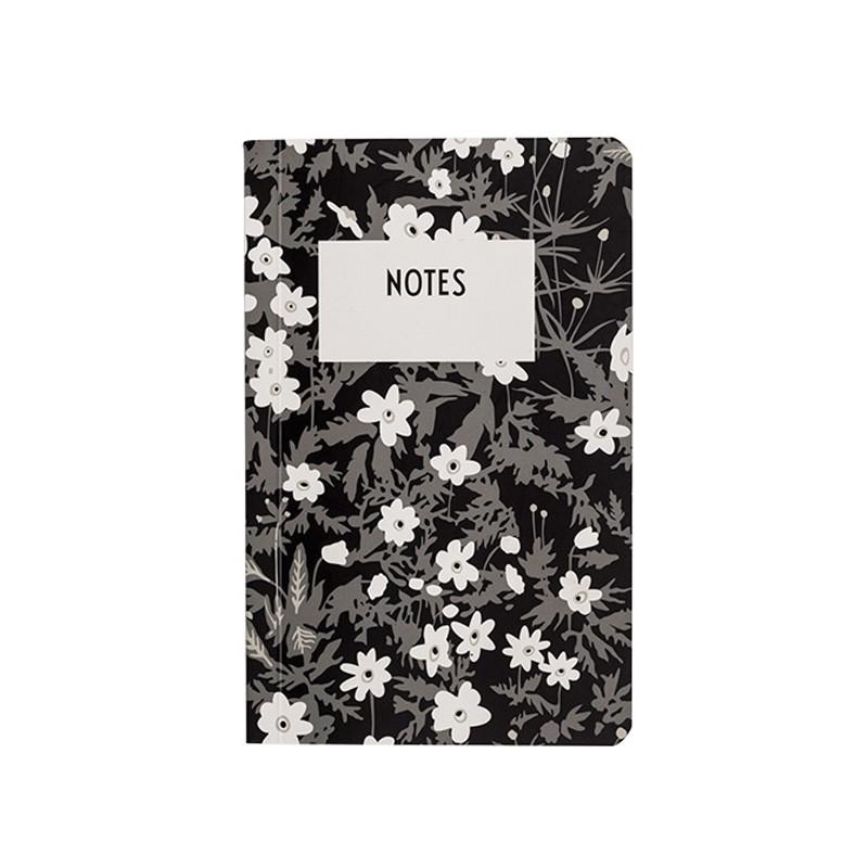 Design Letters AJ Vintage Flower Notesbog
