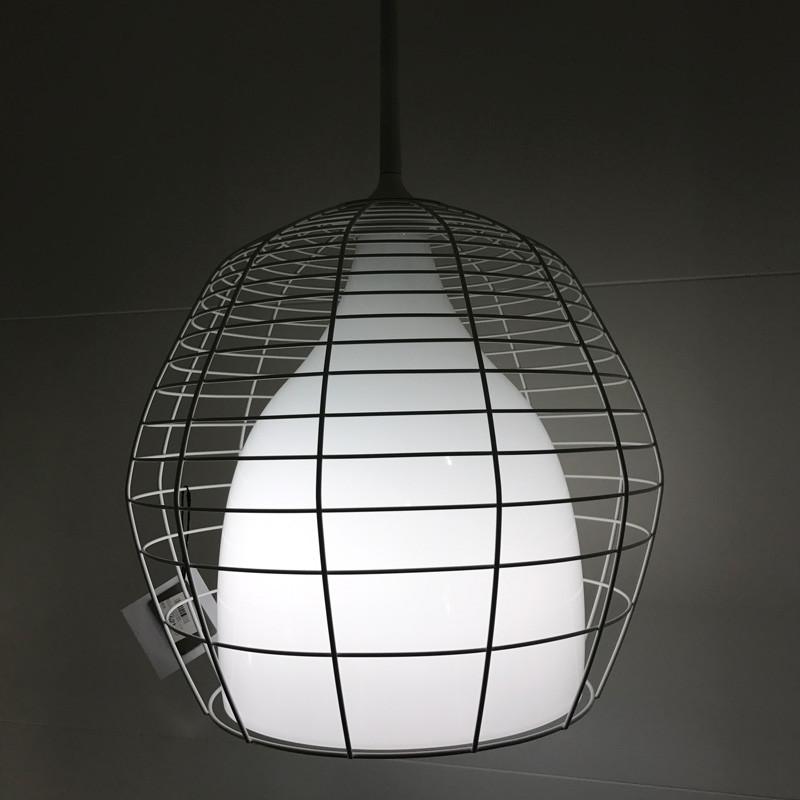 N/A Foscarini diesel cage grande pendel hvid udstillingsmodel på livingshop