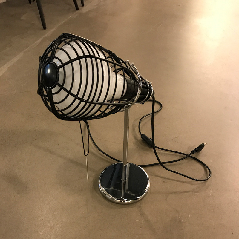 Foscarini Diesel Cage Bordlampe Sort Udstillingsmodel