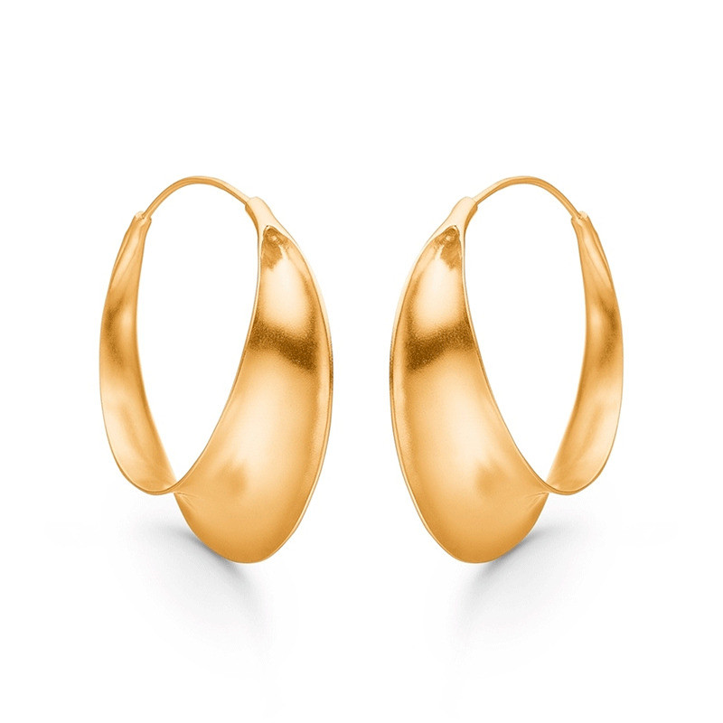 Image of   Enamel Copenhagen Magnificent Earrings Gold-Plated