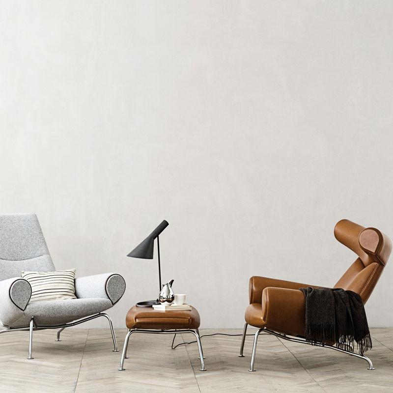 erik j rgensen ej 100 f oxchair skammel. Black Bedroom Furniture Sets. Home Design Ideas