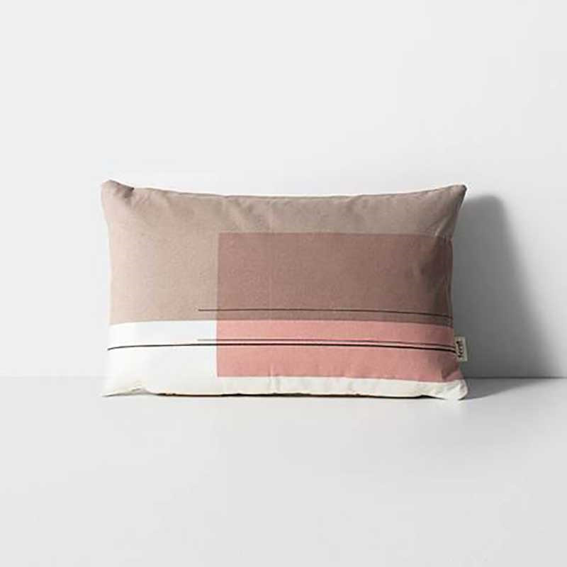 Image of   Ferm Living Colour Block Cushion Small 4