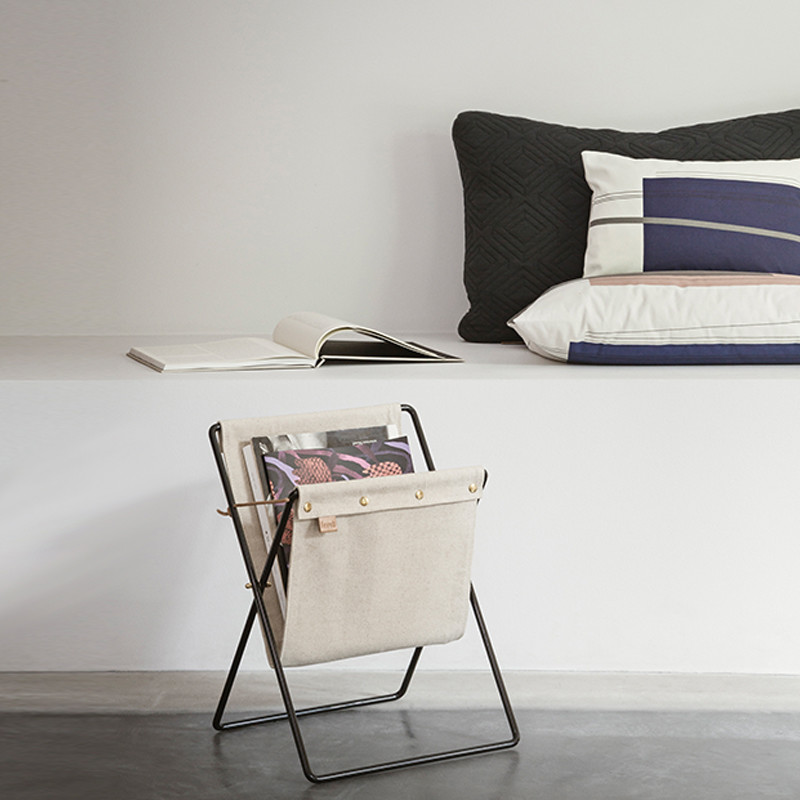 Ferm Living Herman Magazine Stand Black