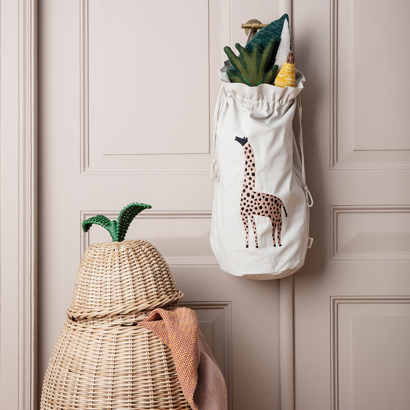 Image of   Ferm Living Safari Storage Bag Giraffe