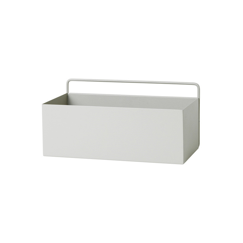 Image of   Ferm Living Wall Box Light Grey Rectangle