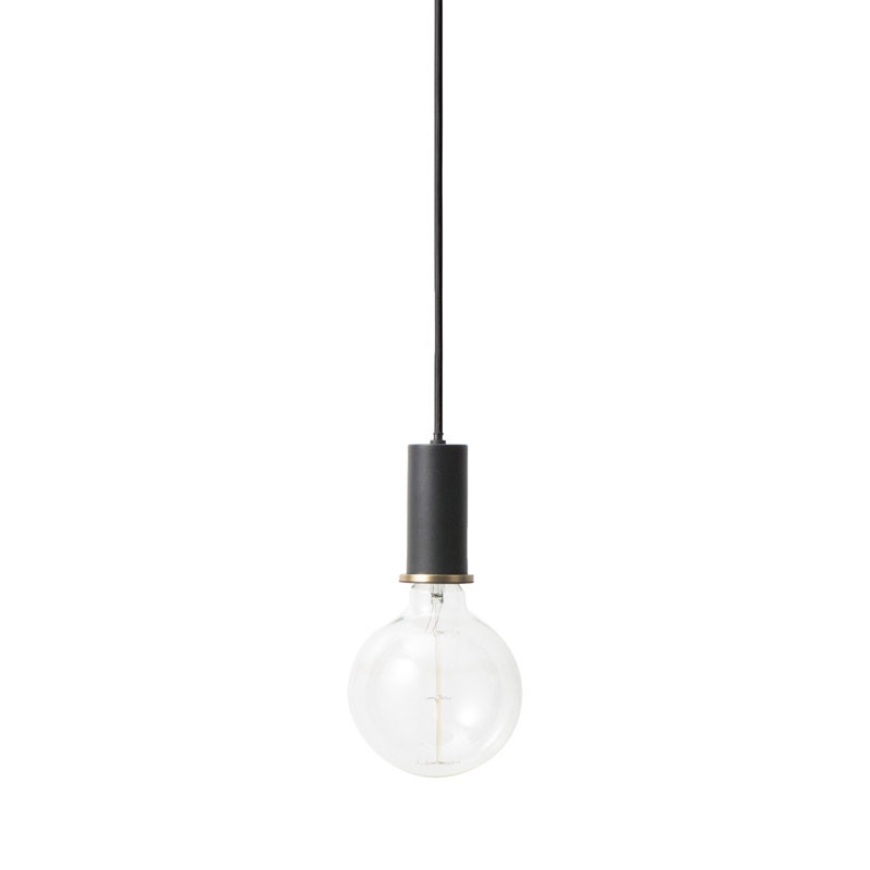 Image of   Ferm Living Socket Pendant Low Black