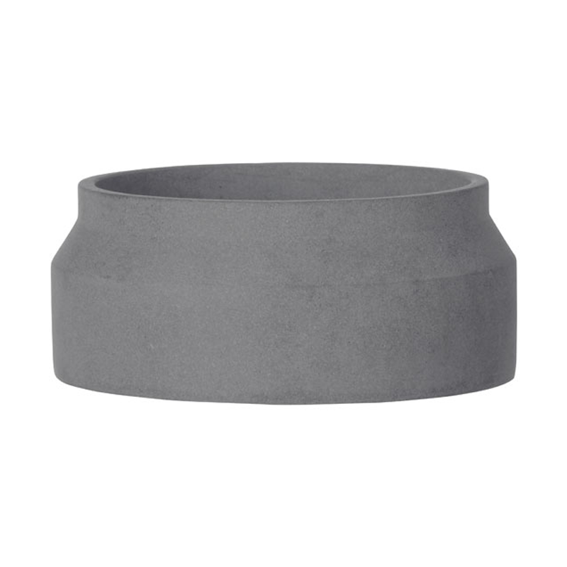 Ferm living pot dark grey