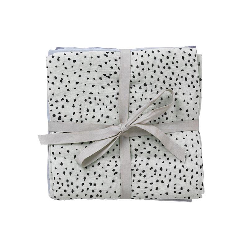 Ferm living muslin squares mint dot stofbleer