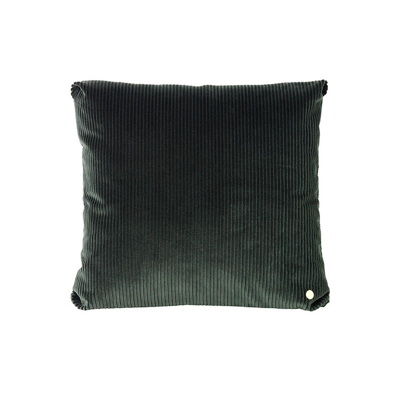 Image of   Ferm Living Corduroy Cushion Green