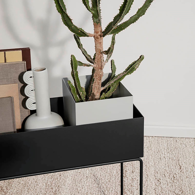 Image of   Ferm Living Plant Box Pot Light Grey