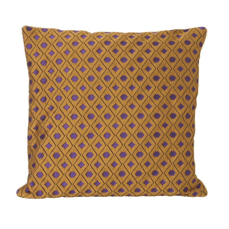 Image of   Ferm Living Salon Cushion Mosaic Curry